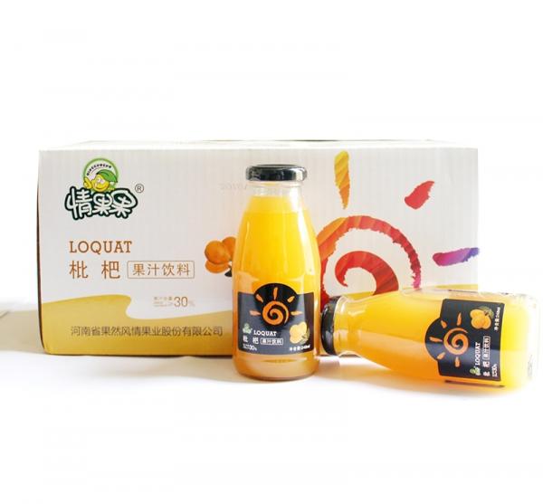 情果果-248ml枇杷果汁